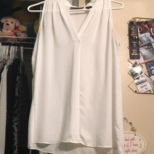 White shell top for work